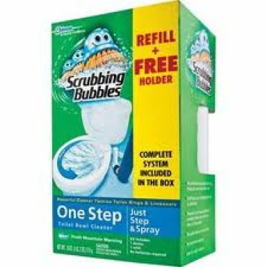 Scrubbing Bubbles One Step Kit